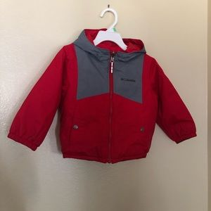 Columbia red thick jacket